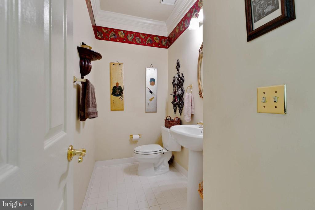 Main Level Powder Room - 8237 GALLERY CT, MONTGOMERY VILLAGE