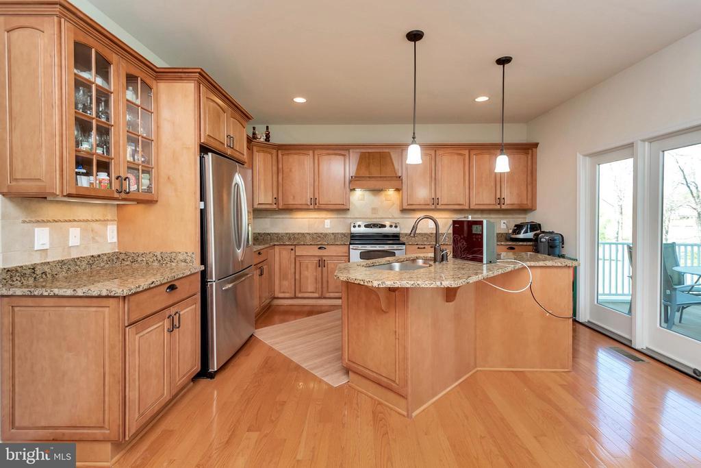 Gourmet kitchen - 26515 PENNFIELDS DR, ORANGE