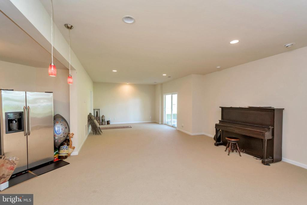 So much additional living space on the lower level - 26515 PENNFIELDS DR, ORANGE