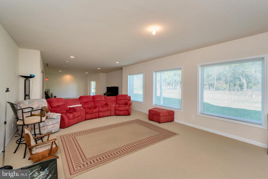Enjoy the water views from the lower level - 26515 PENNFIELDS DR, ORANGE