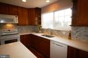 Beautiful new back splash - 612 KRISTIN CT SE, LEESBURG