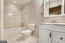 3rd Full Bath on lower level - 9130 BOBWHITE CIR, GAITHERSBURG