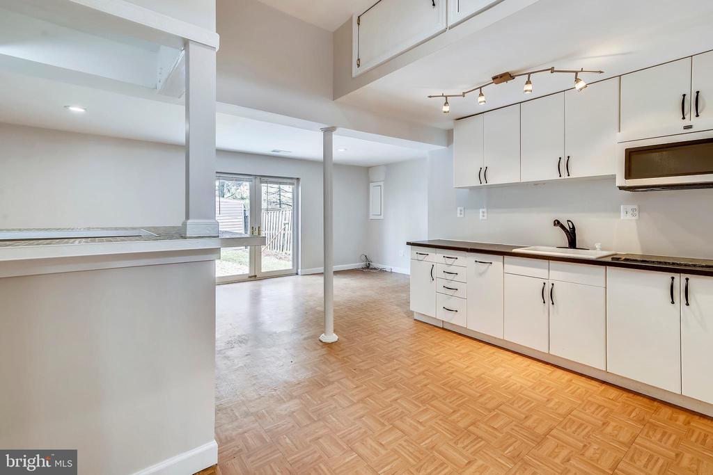 Kitchenette on lower level - 9130 BOBWHITE CIR, GAITHERSBURG