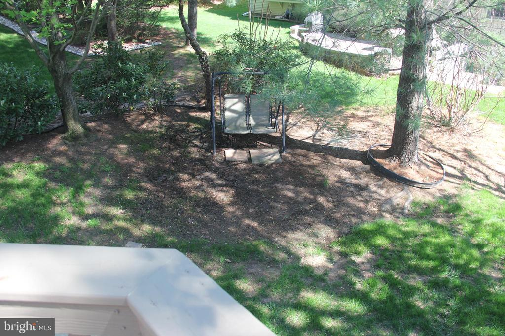 overlook from the deck - 47177 TIMBERLAND PL, POTOMAC FALLS