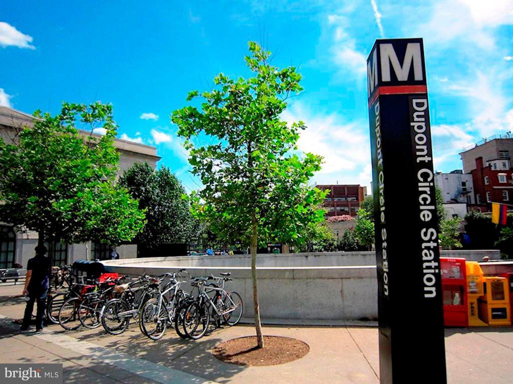 Walk to DuPont Metro - 1301 20TH ST NW #201, WASHINGTON
