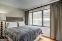 Wall of windows flanking room - 1301 20TH ST NW #201, WASHINGTON