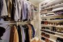 Built- out functional closet - 1301 20TH ST NW #201, WASHINGTON