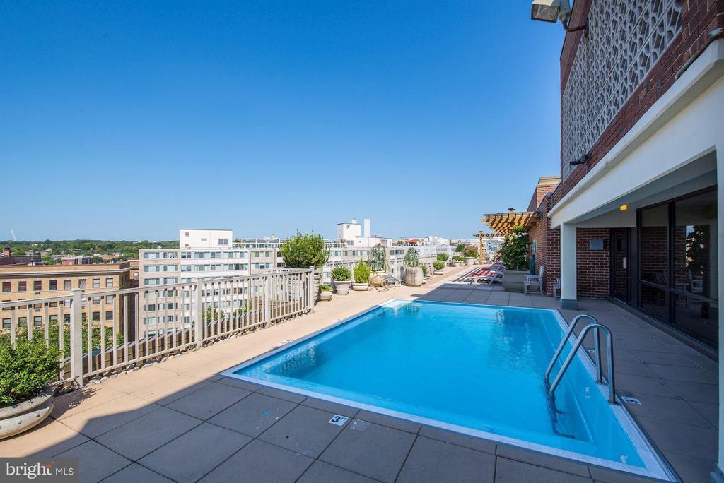Rooftop pool - 1301 20TH ST NW #201, WASHINGTON