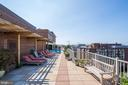 Variety of rooftop seating - 1301 20TH ST NW #201, WASHINGTON
