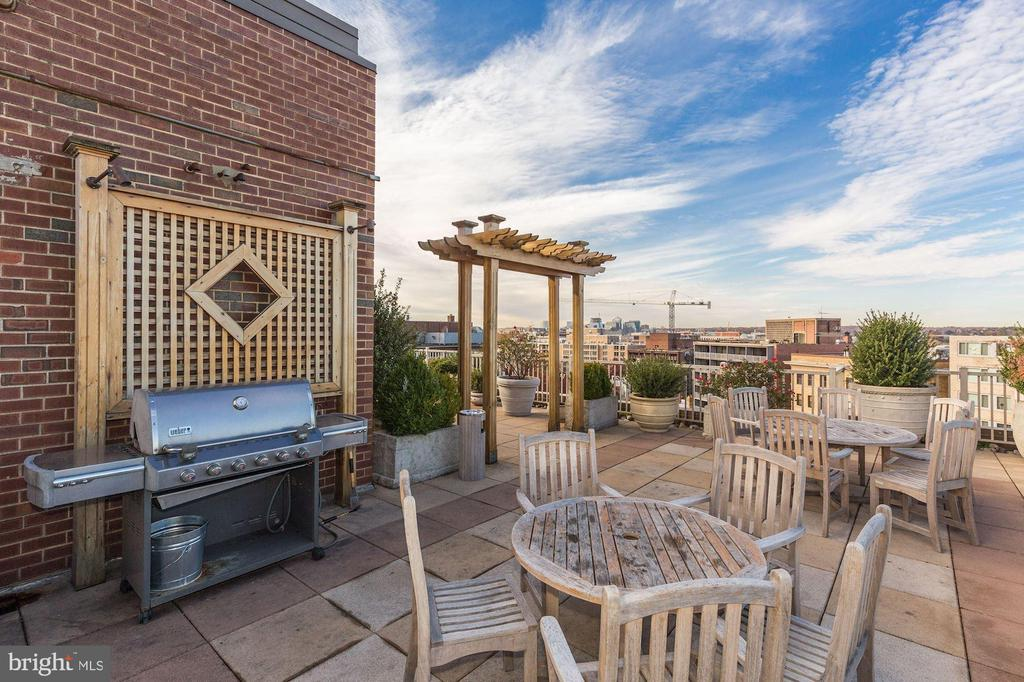 Rooftop grilling - 1301 20TH ST NW #201, WASHINGTON