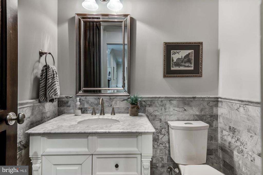 Imported marble and inlaid tile work throughout - 5029 38TH ST N, ARLINGTON