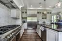 High end SS appliances and striking unique granite - 5029 38TH ST N, ARLINGTON