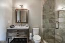 Restoration Hardware fixtures throughout baths - 5029 38TH ST N, ARLINGTON