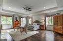 Master bedroom is magnificent! - 5029 38TH ST N, ARLINGTON