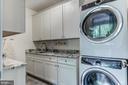 Second floor laundry room w/ wood & stone - 5029 38TH ST N, ARLINGTON