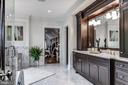 Huge master BA with enclosed glass shower - 5029 38TH ST N, ARLINGTON
