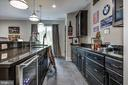 Full lower level wet bar, wine coolers, cabinetry - 5029 38TH ST N, ARLINGTON