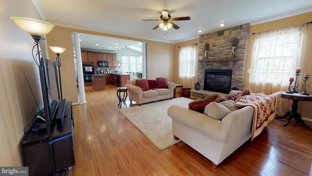 Beautiful stone fireplace - 31 MINERAL SPRINGS, RANSON