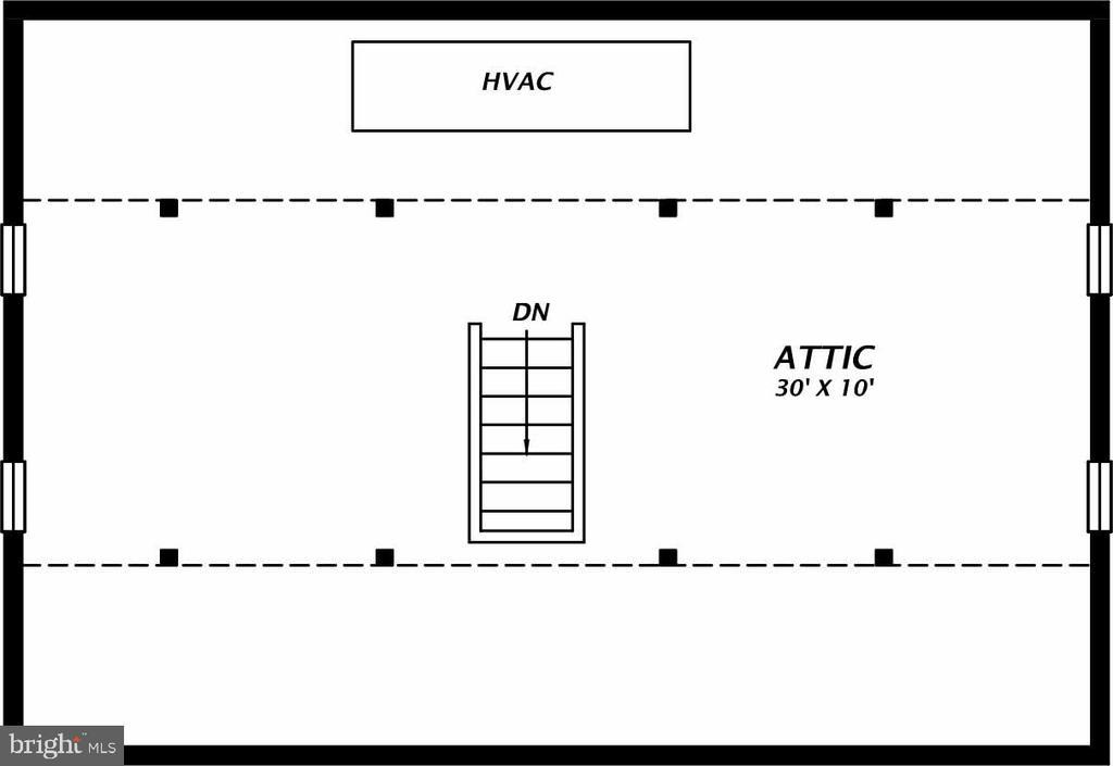 Attic - 1503 N EDISON ST, ARLINGTON