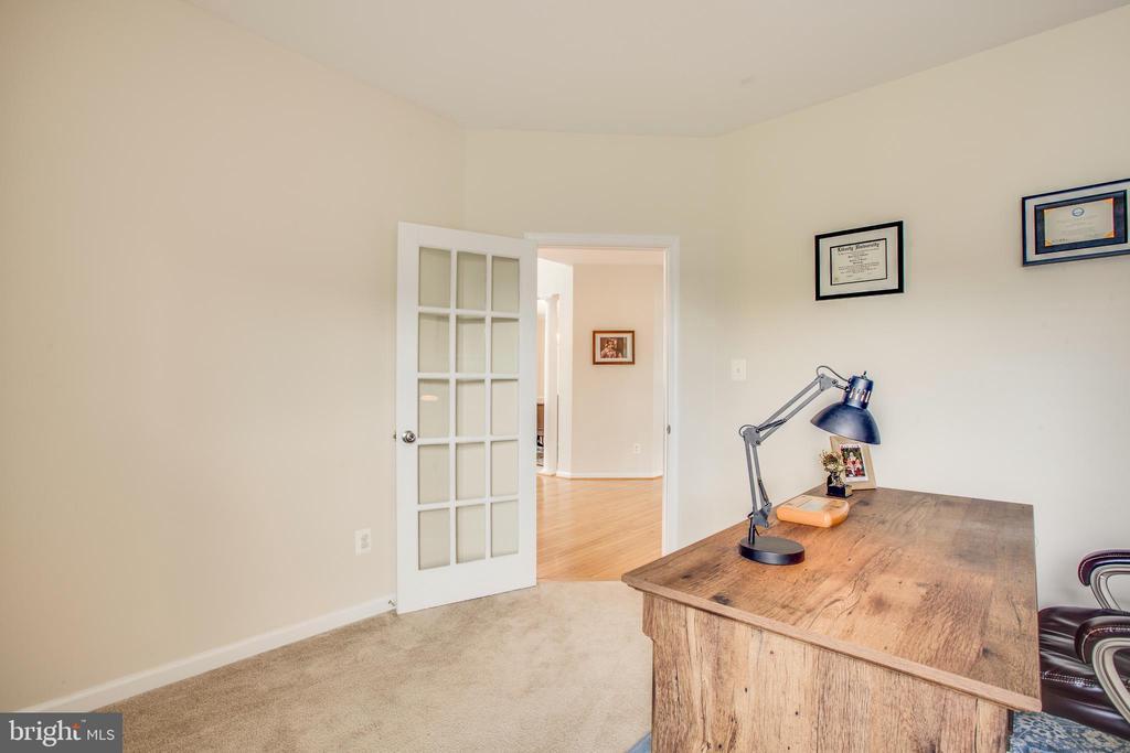 Office with Glass Door - 5209 LINDEN DR, FREDERICKSBURG
