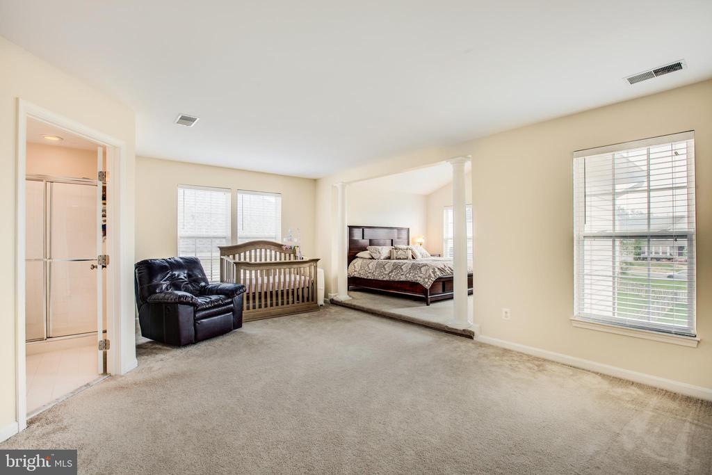 Sitting area in Master Bedroom - 5209 LINDEN DR, FREDERICKSBURG