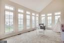 Main floor bonus room with lots of light! - 5209 LINDEN DR, FREDERICKSBURG