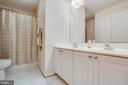 Upstairs Hall Bath - 5209 LINDEN DR, FREDERICKSBURG