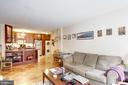 Large Living Room - 1301 20TH ST NW #211, WASHINGTON