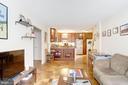 Living Area - 1301 20TH ST NW #211, WASHINGTON