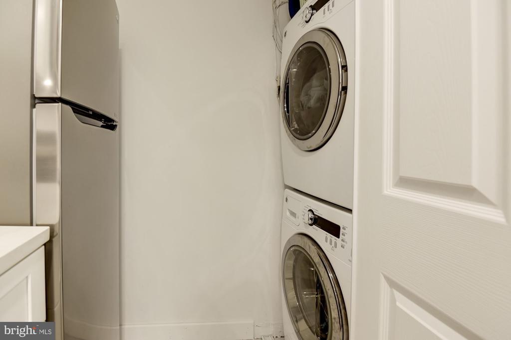 Washer/Dryer - 1124 25TH ST NW #T2, WASHINGTON