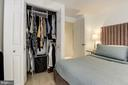Overview Master Bedroom - 1124 25TH ST NW #T2, WASHINGTON