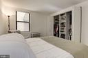 2nd  Bedroom with large closet - 1124 25TH ST NW #T2, WASHINGTON