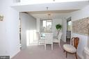 Glorious Light Filled Dining area - 5809 NICHOLSON LN #201, NORTH BETHESDA