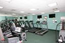 One of 2 Cardio Rooms. cable T.V. - 5809 NICHOLSON LN #201, NORTH BETHESDA