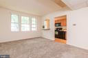 Living Area to Kitchen - 2005 KEY BLVD #11577, ARLINGTON