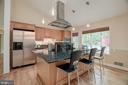 view of kitchen - 9327 TOVITO DR, FAIRFAX