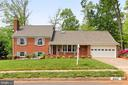 Well built brick home with garage and addition - 4502 MULLEN LN, ANNANDALE