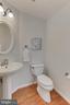 Main level powder room - 4502 MULLEN LN, ANNANDALE