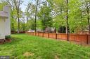 Wonderful fenced yard - 4502 MULLEN LN, ANNANDALE