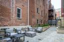 Outdoor common courtyard - 1745 N ST NW #605, WASHINGTON