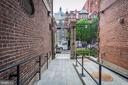 All brick walkway to Modern Flats - 1745 N ST NW #605, WASHINGTON