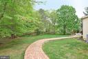 Sideyard Walkway - 6515 MILLER DR, ALEXANDRIA
