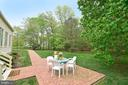 Patio & Backyard - 6515 MILLER DR, ALEXANDRIA