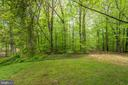 Partly wooded yard. Nature at your door. - 9364 TOVITO DR, FAIRFAX