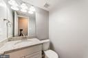 Half Bath totally updated with granite counter - 9364 TOVITO DR, FAIRFAX