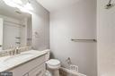 Full Hall bath w granite counter - 9364 TOVITO DR, FAIRFAX
