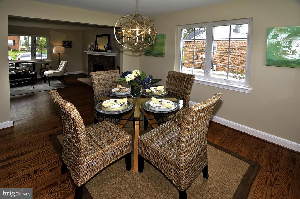 Dining Room 1 - 6011 GRAYSON ST, SPRINGFIELD