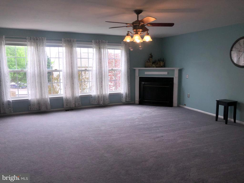 Spacious Family room with Gas Fireplace! - 6 GRANITE CT, FREDERICKSBURG