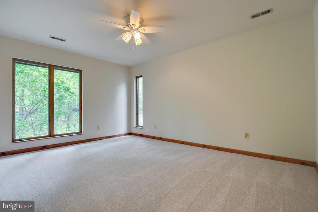 Bedroom 2 enjoys two wooded back yard views - 11220 HANDLEBAR RD, RESTON