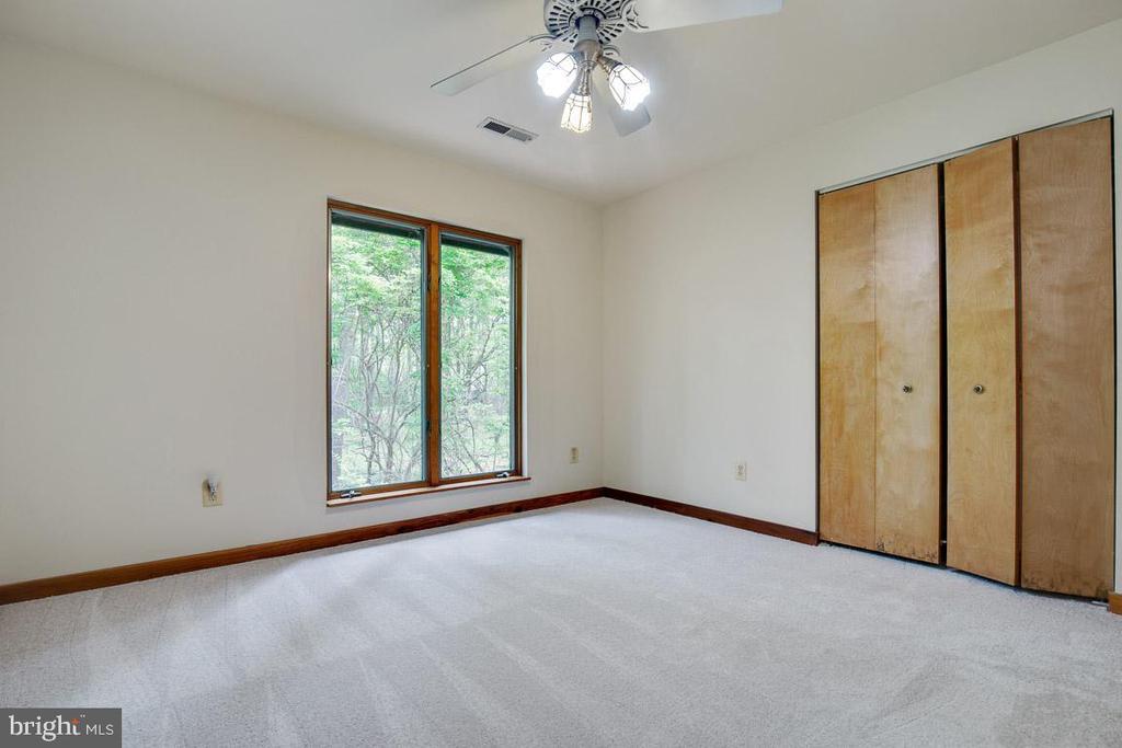 Bedroom 4 overlooks the coi pond - 11220 HANDLEBAR RD, RESTON